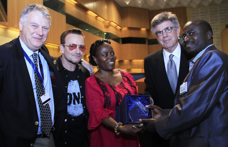 2013 ONE Africa Awards Agricultural Non-State Actors Forum ANSAF of Tanzania