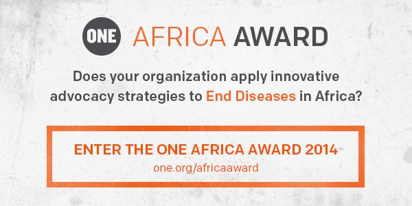 Twitter end hunger ONE Africa Awards