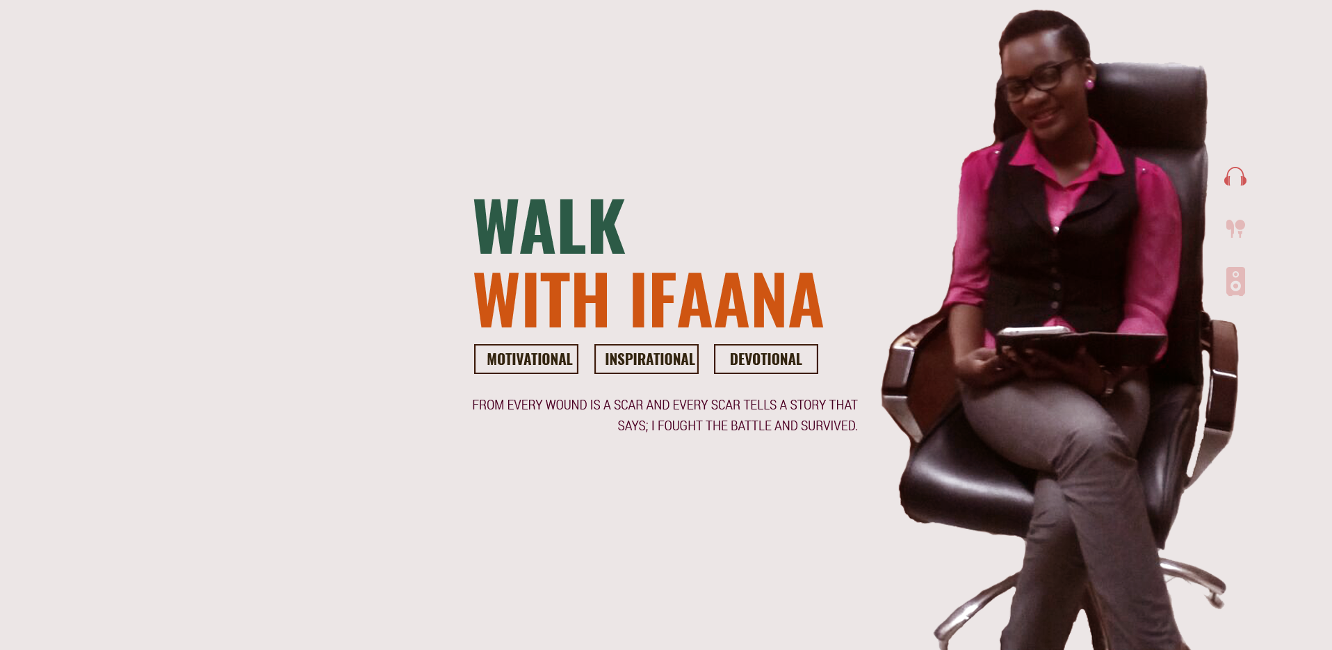 walk with ifaana TIPTOPSTARS