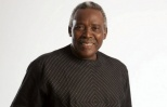 Olu Jacobs en route to Cameroon