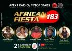 APEX1RADIO : ON AFRICAN FIESTA THIS WEEK
