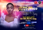 African Fiesta 169 - Ebangha Njang talks about latest SA MAJESTE mag