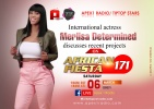 African Fiesta 164 -Merlisa Determined waxes on stronger